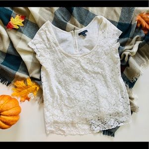 Womens American Eagle Lace Top - Sz XS